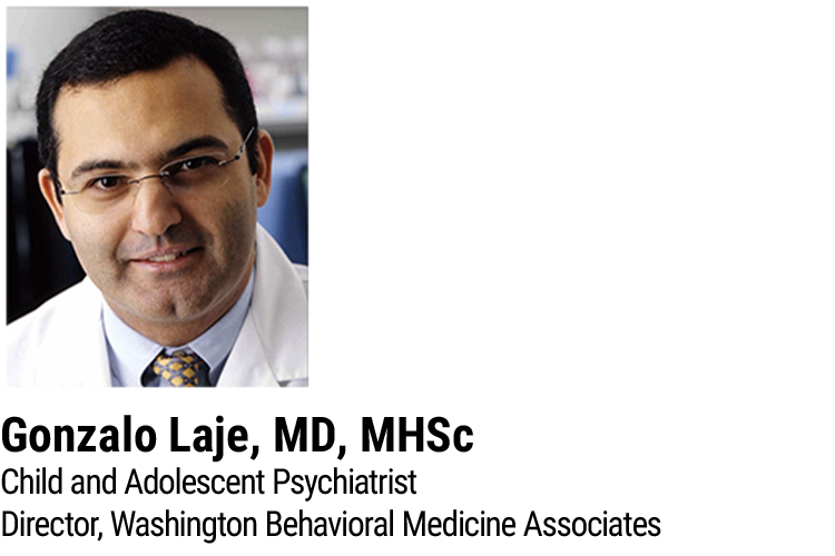 Headshot of Gonzalo Laje, MD, MHSc