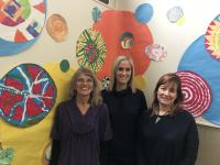Three art teachers