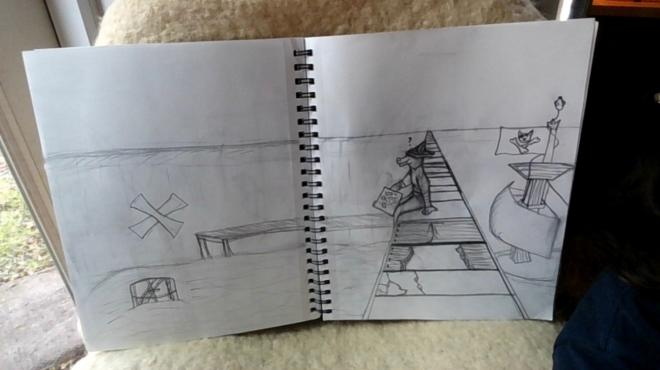 Int Art, Point Perspective