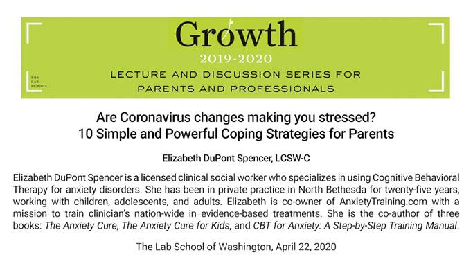 Lecture Series for Parents and Professionals Video Title Card